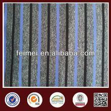 New Pattern Stretch Single Jersey Shiny Poly Stripe Knit Fabric In Stock