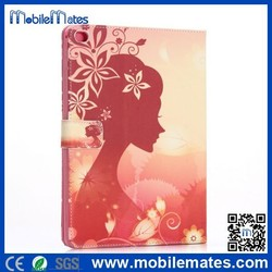 2015 New Diamond PU Leather Flip Case for iPad Air 2 /iPad 6 Book Cover Case