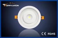 New design epistar chip warm white recessed round 16w ultra thin led downlight