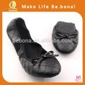 doblar los zapatos de la boda para los invitados la bailarina de estilo zapatos de la boda