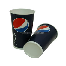 Soda Cola cold drinks double PE coated paper cup