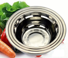 Wholesale Stainless Steel soup bowl/ stainless steel 18/8 finger bowl