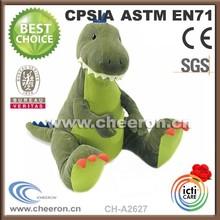 Dinosauro verde, giocattoli dinosauro peluche, dinosauro animale di pezza