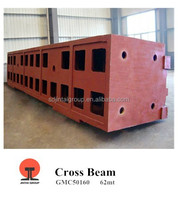 Heavy-duty 0.2MT-90MT Refined Resin-boned Sand Casting in Grey/Ductile Iron