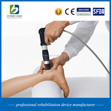 shock wave therapy equipment for treating back pain