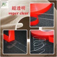 10 mm X 33 M Or Customized 3M Similar Clear Acrylic Closed Cell Foam Glue Tapes
