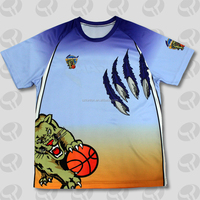 team sublimated print custom shirts