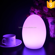 RGB Living Color Changing power outlet hotel table lamps