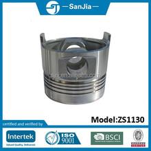 Good quality Sanjia retail hydraulic pistons ZS1130 price of black piston