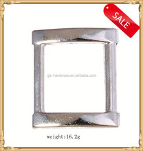 Small square metal side release buckle for handbag, Garment buckles, factory direct sale, JL-317
