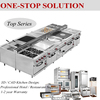 Commercial Used Restaurant Kitchen Equipment (CE, ROHS)