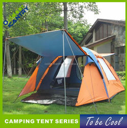 ventilation and weatherproof big family camping tent large tent for outdoor camping 2015 KT2014