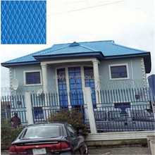 diamond embossed color coated aluminum coil for aluminum roofing material in Congo