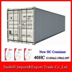 New 40GP Shipping Container