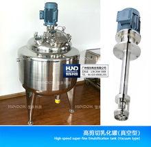 Alta emulsión de cizalladura de mezcla homogénea del tanque