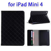 mobile accessories display leather tablet cover for iPad mini 4