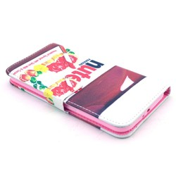 For samsung galaxy NOTE edge flip cover case
