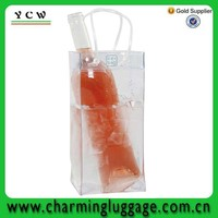 2013 Factory Supply pvc wine ice bag for promotion