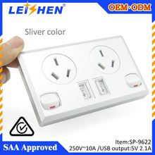 5V 2.1A usb output australia wall powerpoint usb for Hotel renovations