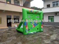2014 Best Quality Kids' inflatable soccer gate football gate