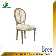 Dining chair,French Style louis wood dining chair/French country style round back dining chair