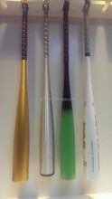 Custom aluminium bâtons de baseball / logo personnalisé et couleur