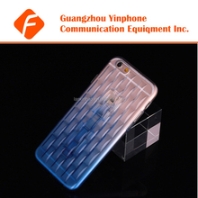 YPC-TI02 Snap On Soft Back Cover For iPhone 6 Cellphone With Stand Ice Sculpture Design