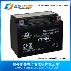 12 volt auto motorcycles two wheeler battery