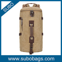 2015 new style large capacity canvas travel bag/travel backpack for men and women
