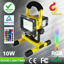 led grow lights RGB with 16 colors choice for sale, ip65 light fixture led flood light for camping, fishing, construction