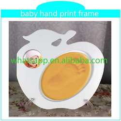 new inkless print pad with frame for baby gift top grade handprint cafe cup saucer set