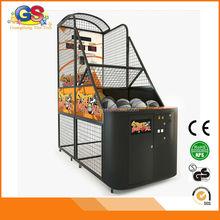 2015 newest coin operated amusement sensor for uk simulator basketball game machine