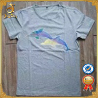 Wholesale factory price single jersey mens t shirt stocklot from China