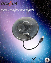 2015 new products!led headlight 7 inch round headlight led 7 inch round led headlight 12v 24v