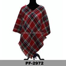 new style latest design high quality ladies poncho and shawls Thick ladies poncho hand ladies poncho
