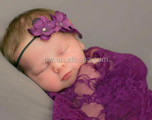 Nuevo producto del cordón del bebé wraps con la cabeza accesorios del bebé accesorios de fotografía