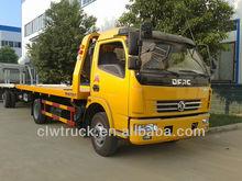 Dongfeng DLK 4 ton reparación de carreteras de camiones, 4 x 2 camión de auxilio de camiones