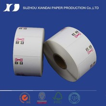 thermal transfer paper labels removable thermal paper adhesive label