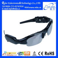 New MP3 mini hidden sports sunglasses camera manual