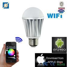 newest led product,WiFi rgbw wifi tan led lighting bulbs