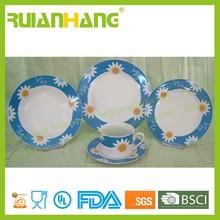 Porcelain high end dinnerware, dinner set online shopping