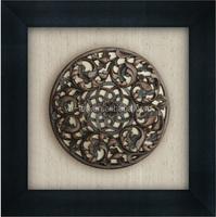 80X80cm PS Framed Resin Art