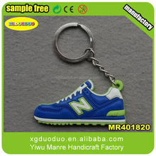 2015Popular Sport Shoe keychain, Soft PVC Sneaker phone chain + Free Gift Anti Dust Plug Phone Chain Picture
