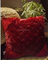 New fashion factory wholesale square soft recliner home decor cheap sofa cushions