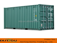Dry standard shipping container