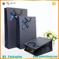 2015 Hot sale High Quality cotton handle paper bag for shopping