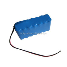 Rechargeable Li-ion Battery pack: 25.9V/5.2Ah with PCM 7A