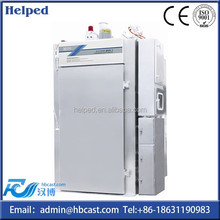 Automatic fish/sausage/meat smoking oven