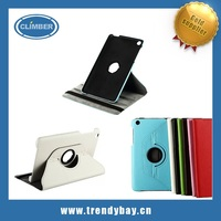 Rotation stand leather flip case for Lenovo A5500