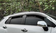 4PCS/SET Injection Moulding Guard Window Visor Vent for Chevrolet Captiva 2010 PC+Steel